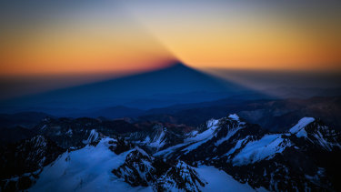 Sunrise over Aconcagua. As Isabella de la Houssaye battles lung cancer, adventures have taken on new meanings.