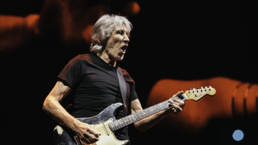 Roger Waters performing as part of his Us + Them tour.