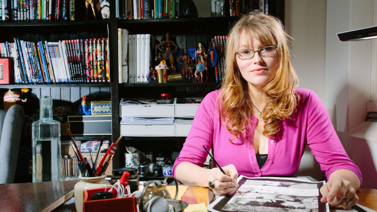 Sydney comic book artist Nicola Scott.