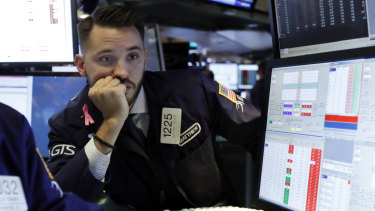 The S&P 500 has slumped by more than 8 per cent in October.