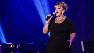 Alison Jiear: good enough to pay tribute to the great jazz singer Ella Fitzgerald.