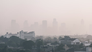 Jakarta is choking in pollution.