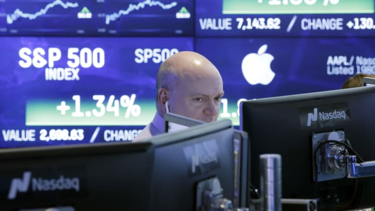The Nasdaq finished in the black after losing close to 4 per cent over the previous three sessions.