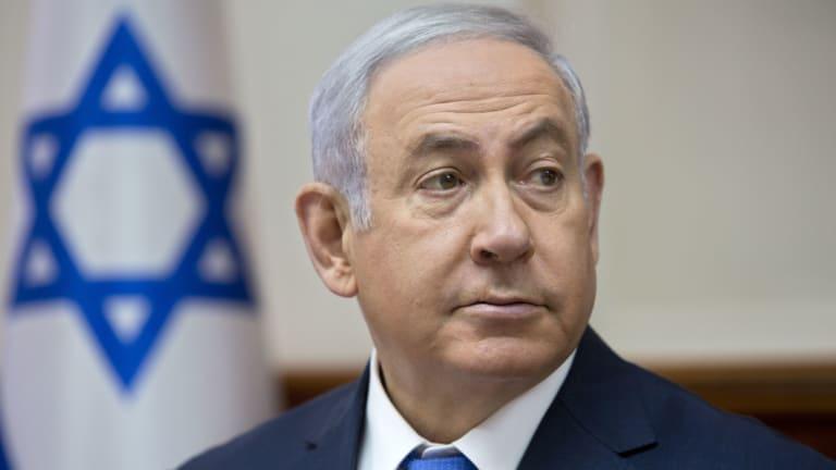 Declined invitation: Israeli Prime Minister Benjamin Netanyahu.