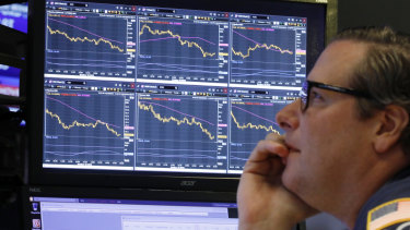 There is absolutely no agreement on whether the world stock markets are about to fall out of bed.