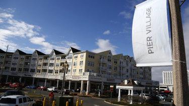 The Pier Village development is seen in Long Branch, N.J, also an opportunity zone.