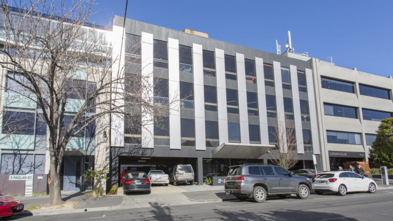 The South Melbourne office at 9-17 Raglan Street sold off market for around $14 million.