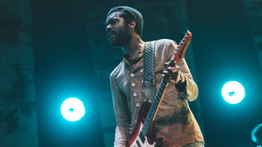 Gary Clark Jr. has become familiar to Melbourne audiences.