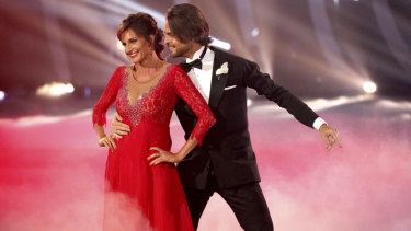 Cassandra Thorburn on Network 10's Dancing With the Stars.