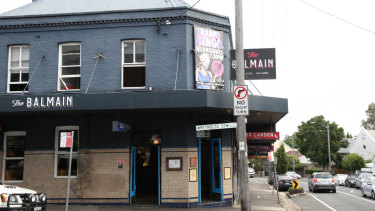 Foxtel has cracked down on screenings of their hit series at pubs, including The Balmain Hotel.