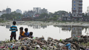 Bangladeshi children are endangered by the effects of climate change, UNICEF reports.