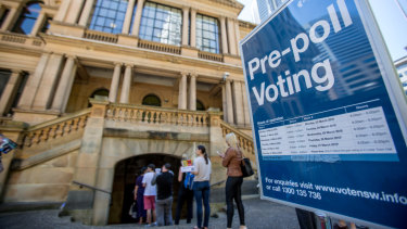 "There has been ""remarkable"" growth in pre-poll voting, according to the AEC."