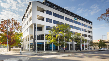 Centuria has bought the Optus Centre office building in Canberra for $35 million.