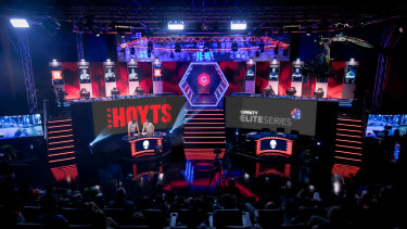 What an Elite Series arena in Australia may look like.