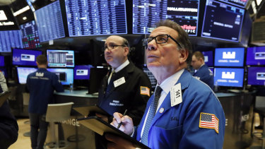 Wall Street is sharply lower on Wednesday.