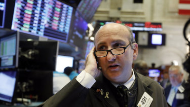 Wall Street jumped higher to start the week.