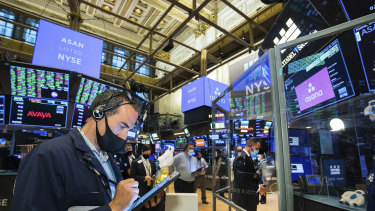 Wall Street retreated as infection numbers across the US increased.