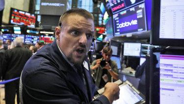 Wall Street has lost around $US3 trillion in value in under three weeks.