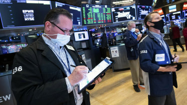 Wall Street's losing run looks set to continue.
