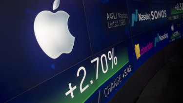 The stock prices of tech giants are powering Wall Street.