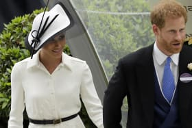 Meghan Markle channels Princess Diana for first Ascot outing