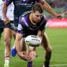 Storm's Scott vows to bounce back from tough night