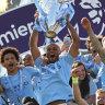 Manchester City break Liverpool hearts to retain Premier League title