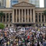 Anti-Morrison climate rally attracts thousands in Brisbane