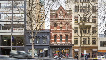 Investors vie for Bourke Street buildings