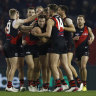 Adelaide record lowest score as Bombers thrash the Crows