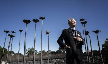 Handful of veterans turn out to remember Korean War