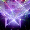 Dazzling lasers the highlight of low-key Arts House return