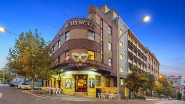 The Hollywood Hotel on Foster Street, Surry Hills, Sydney is listed for sale
