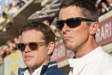 Matt Damon (left) and Christian Bale play widely contrasting characters in Ford v Ferrari.