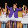 Elton John takes to Billy Elliot stage in tutu