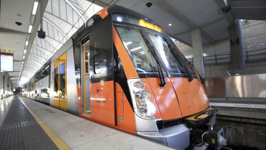 The new entity will house up to $40 billion of the state's public transport assets including the train fleet.