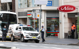 NSW health authorities are investigating a potential transmission of COVID-19 among returned travellers at the Adina Apartments Hotel in Town Hall.