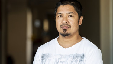 Perth man Petronilo Ligutan has been diagnosed with silicosis.