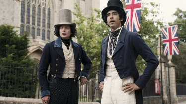 The Personal History of David Copperfield is directed by Armando Iannucci.