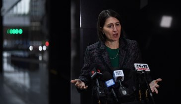 "Gladys Berejiklian ... by Christmas ""there shouldn't be an excuse for any state to have a border that isn't open with NSW""."