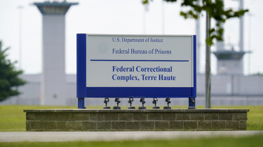 The US federal prison complex in Terre Haute, Indiana.