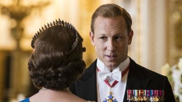 Tobias Menzies plays Prince Philip in season 3 of The Crown