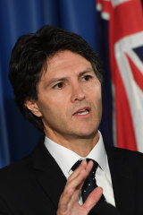 Finance Minister Victor Dominello.