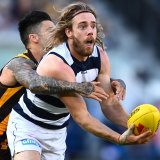 Cam Guthrie and his Cats teammates will take on Richmond in the grand final rematch.