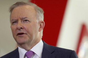 """Opposition Leader Anthony Albanese Anthony Albanese said he had """"no intention"""" of commenting on Morrison's claim he'd been called upon to do God's work."""