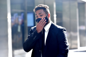 Jackson Williams was acquitted of intending to commit a sexual offence following a judge-alone trial.