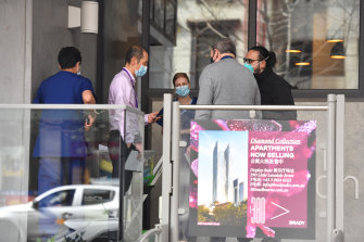 A resident of CBD apartment complex Vision Apartments has tested positive to coronavirus.