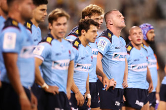 The Waratahs may look at installing a director of coaching after a disastrous start to the Super Rugby AU season.