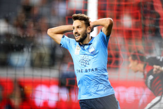 """""""It's the most special game"""": Ninkovic revels in the derby, even if less are attending."""
