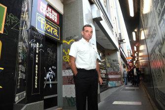 The Salvation Army's Major Brendan Nottle backs a safe-injecting room on Flinders Street.